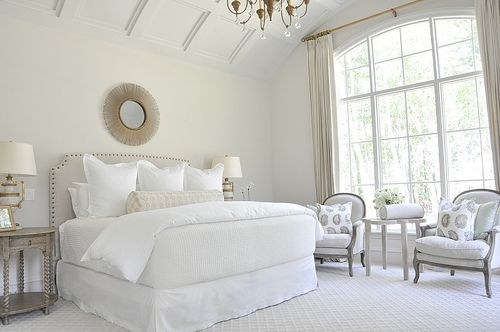 Warum lieben weiße Bettwäsche