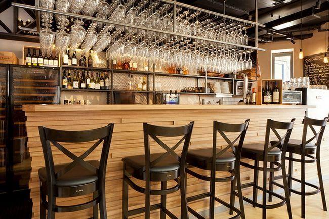 Wine Bar Deko-Ideen